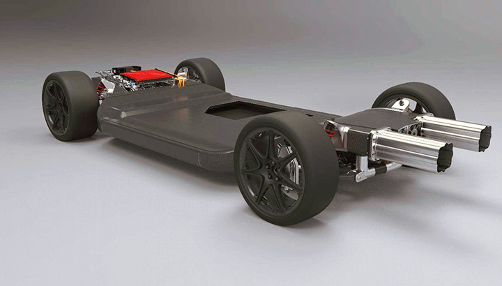 Williams cria conceito de plataforma para veículo elétrico