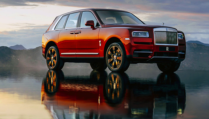 Rolls-Royce Cullinan, primeiro SUV da marca, usa arquitetura de alumínio