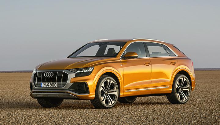 Audi Q8 usa nova plataforma multi-material Space Frame