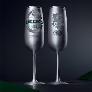 Cervejaria alemã lança bebida em taça de alumínio
