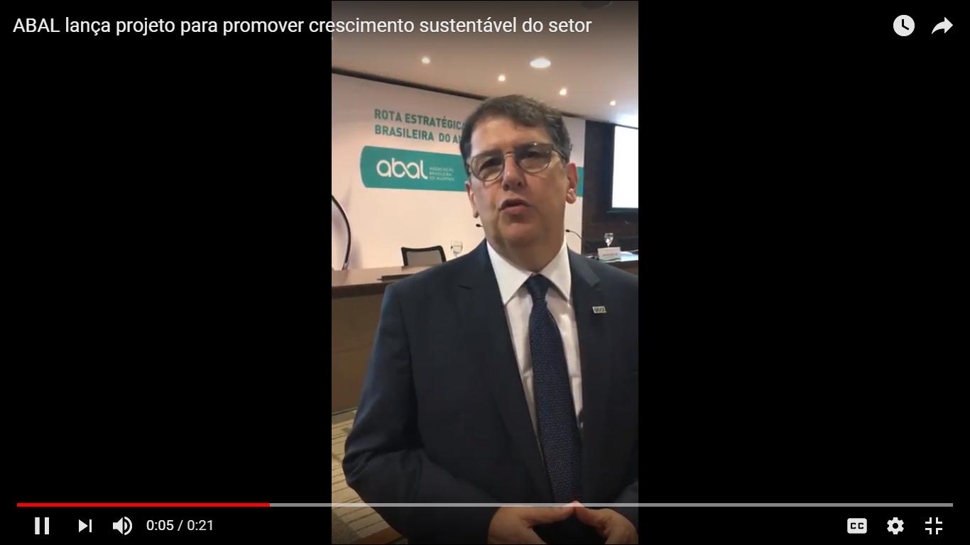 ABAL lança projeto para promover crescimento sustentável do setor