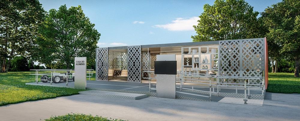 Conheça a Casa do Alumínio – uma experiência de arquitetura, arte e design