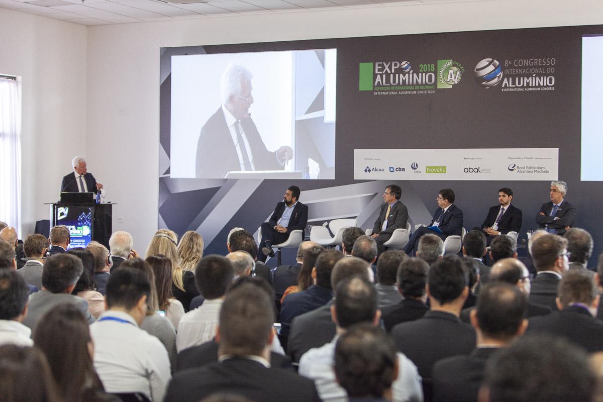 Abertura da ExpoAlumínio 2018 levanta pauta sobre economia e representatividade do alumínio no país